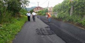 elmalık mahallesi yol yapımı