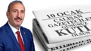 Başkan Gültekin'den Gazeteciler Günü Mesajı