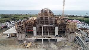 'Doğu Karadeniz'in en büyük cami ve külliyesi' yükseliyor
