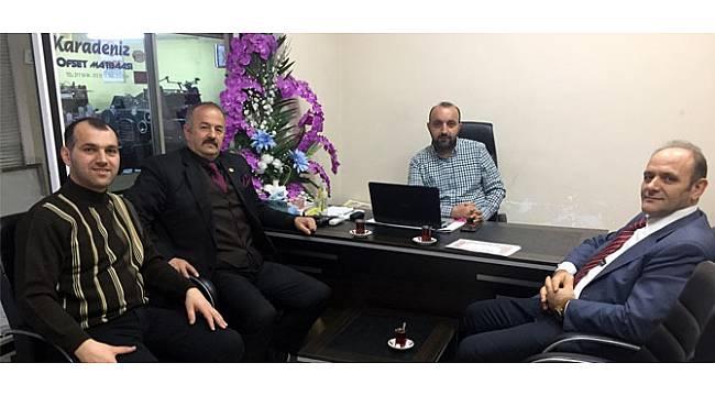 Köseoğlu'ndan Gazetecilere Teşekkür Belgesi