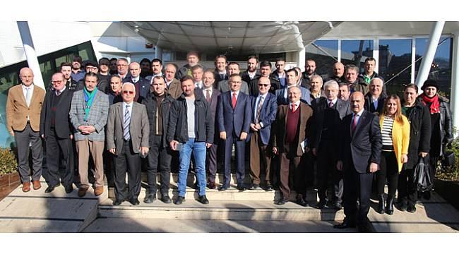 Vali Çeber, Basın Mensuplarıyla Bir Araya Geldi