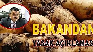 ARTVİN DAHİL 25 İLDE PATATES EKİMİ YASAKLANDI!