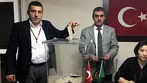 Fındıklı Ziraat Odası'nda Mehmet Ali Özsoy Güven Tazeledi