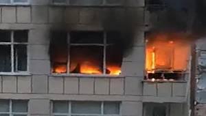 Rize'de Ev Yangını. 6 Kişi Dumandan Etkilendi