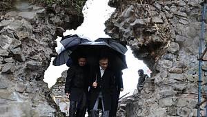 Rize Valisi Çeber, CİHA Kalesinde İncelemelerde Bulundu