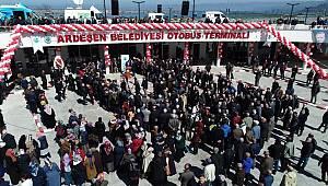 Ardeşen'de Toplu Açılış Töreni Yapıldı