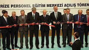 Bakan Gül, Rize Personel Eğitim Merkezi'nin Açılışına Katıldı