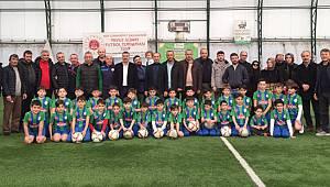 Çaykur Rizespor Futbol Okulu'nun İlki Rize'de Açıldı
