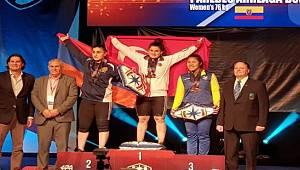 Güneysu Spor Kulubü Sporcusu Milli Halterciden Dünya Rekoruyla 3 Altın Madalya