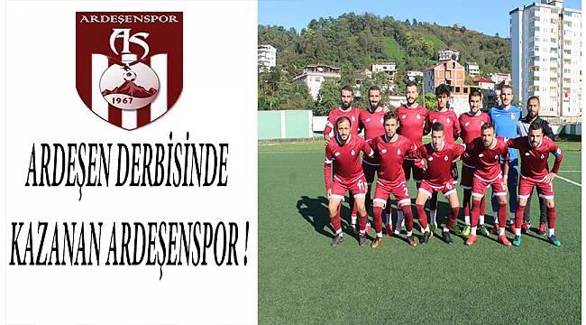 Play Off 1. Hafta Ardeşen Derbisinde Kazanan Ardeşenspor !