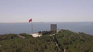 Rize'den Çanakkale'ye Gittiler, Zafer ve Şehitler İçin Klip Çektiler