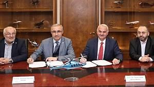 RTEÜ ile TUSAŞ/TAI Arasında Protokol İmzalandı