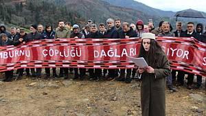 TRAB-Rİ-KAP'a Ait Çöp Tesisini Yol Keserek Protesto Ettiler