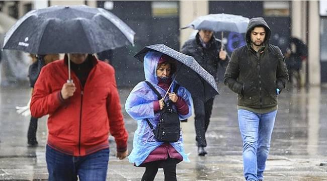 Ülke geneli yağışlı havanın etkisine giriyor