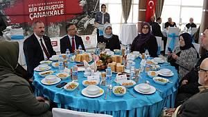 Vali Çeber'den Şehit Aileleri ve Gaziler Onuruna Yemek