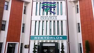 Recep Tayyip Erdoğan Üniversitesi 37 Öğretim Üyesi Alacak