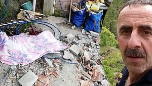 Rize'de Söktükleri Çatıdan Düştüler 1 Ölü, 2 Yaralı
