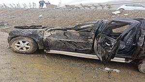 Rize'de Trafik Kazası 1 Ölü