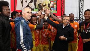 RTEÜ'de Rize 2. Uluslararası Öğrenci Futbol Turnuvası Düzenlendi