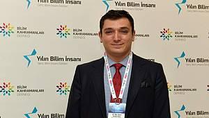 RTEÜ'lü Öğretim Üyesi Cüce 2018 Yılının Bilim İnsanı Ödülünü Kazandı