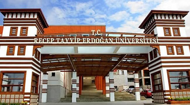 TÜBİTAK'tan Recep Tayyip Erdoğan Üniversitesinin 25 Projesine Destek