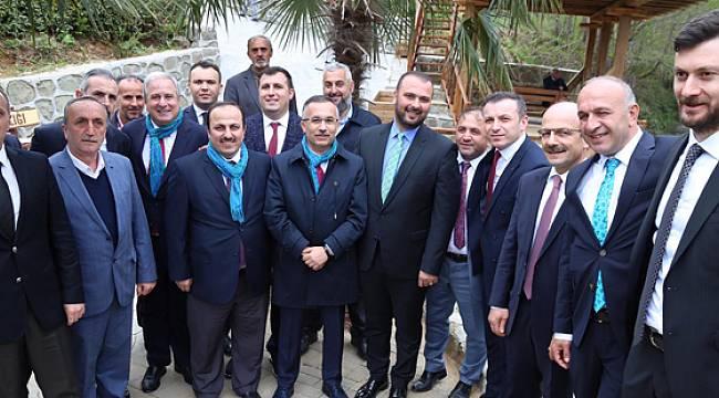 Vali Kemal Çeber Pileki Parkın Açılışını Yaptı