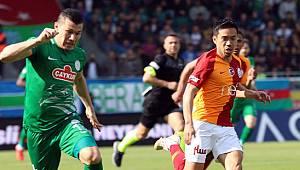 Çaykur Rizespor, Galatasaray Önünde Uzatmalarda Yıkıldı