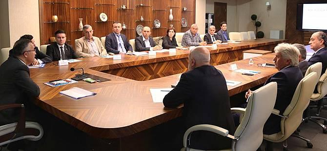Rize'de Katı Atık Aktarma Tesisi İle İlgili Toplantı Düzenlendi