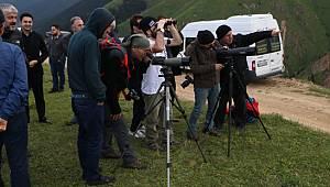 Dağ Horozu Kendini 3 Yıl Sonra 2 Km Uzaktan Dürbünle Gösterdi