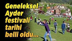 Geneleksel Ayder Festivali başlıyor !