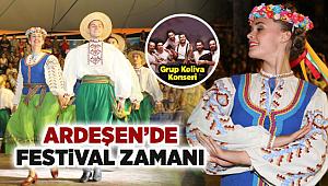 Ardeşen'de Festival Zamanı