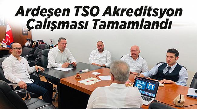 Ardeşen TSO Akreditasyon Sistemi Stratejik Plan Çalışması Yapıldı.