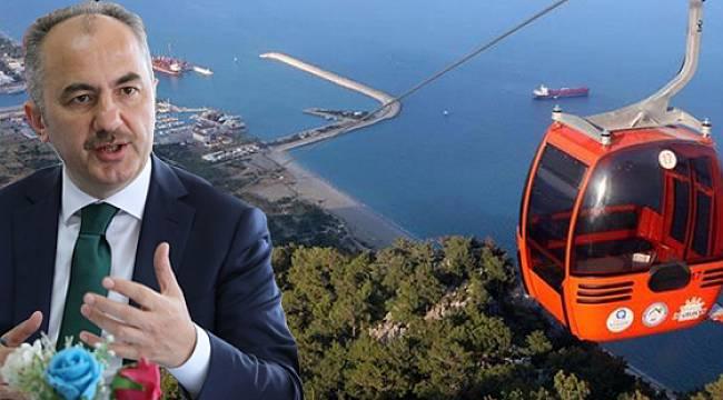 Rize Belediye Başkanı Rahmi Metin'den Teleferik Açıklaması