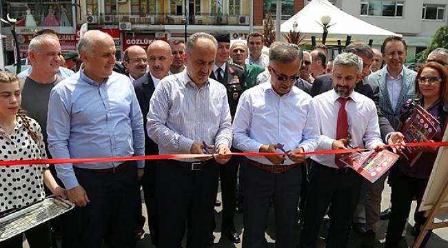 """Rize'de """"15 Temmuz Milli İrade ve Demokrasi Sergisi"""" Açıldı"""