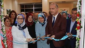 Rize'de Kadın Kültür Mesleki Eğitim Merkezinden Dönem Sonu Sergisi Açıldı