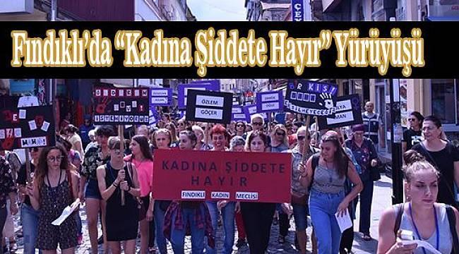 Fındıklı Kadın Meclisi Tarafından Ses Getiren Yürüyüş