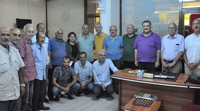 Hasan Karal'dan Rize'de Bir Dizi Ziyaretler