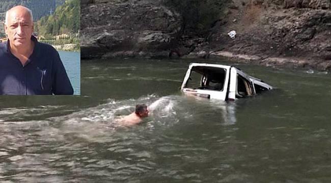 Rize Plakalı Kamyonet Çoruh Nehri'ne Uçtu: 1 Ölü, 2'si Ağır 3 Yaralı