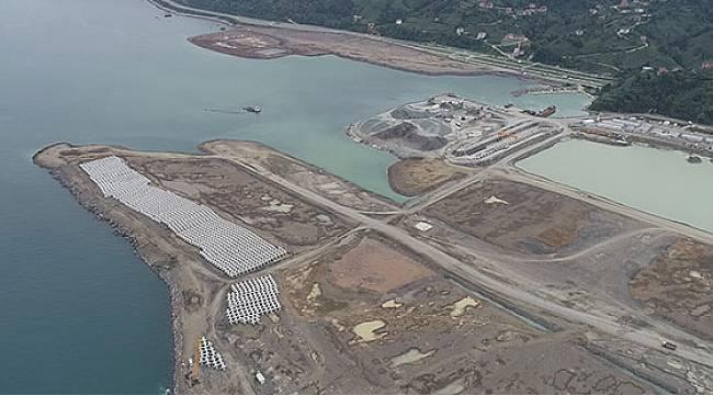 Rize-Artvin Havalimanı'nın Yüzde 41'i Tamamlandı