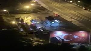 Rize'de Otomobil Polis Kontrol Noktasına Çarptı: 2 Yaralı