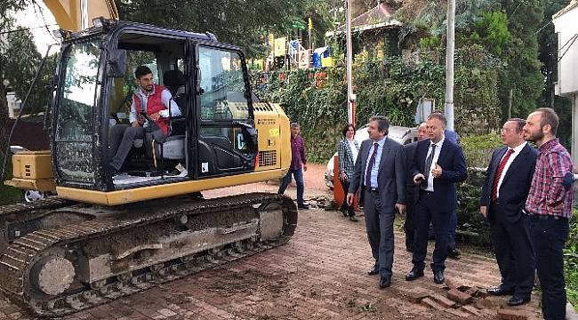 Rize'de Ziraat Çay Bahçesinin Çehresi Değişiyor. Otopark Kasım'da Hizmette