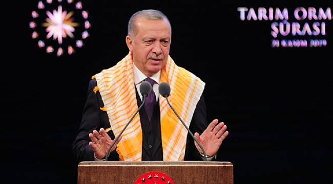 """Cumhurbaşkanı Erdoğan: """"Kuru çay satışı 115 bin tona çıkacak"""""""
