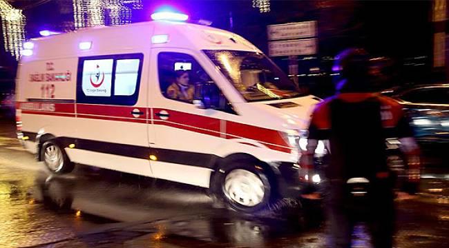 Rize'de İki Otomobil Çarpıştı: 5 Yaralı