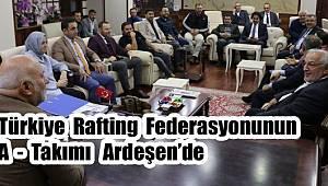 Türkiye Rafting Federasyonu Ardeşen'de