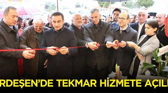 Ardeşen'de Tekmar Hizmete Açıldı