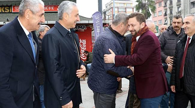 Milletvekili Avcı'dan Pazar'da Kentsel Dönüşüm ve Millet Bahçesi Açıklaması