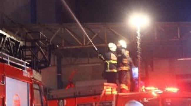 Rize'de Metruk Binada Yangın Çıktı