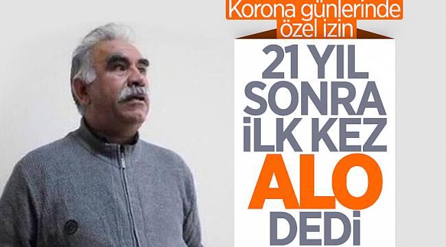 PKK elebaşı Öcalan'a telefon izni