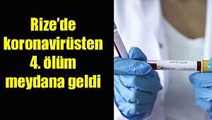 Rize'de Koronavirüse Bağlı Olarak 4. Ölüm Gerçekleşti