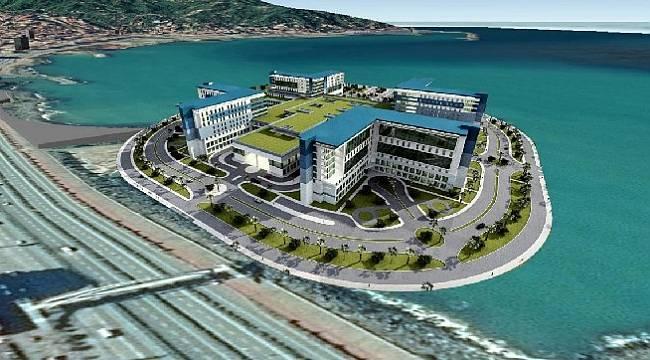 Rize Şehir Hastanesinin Projesi Şekillenmeye Başladı